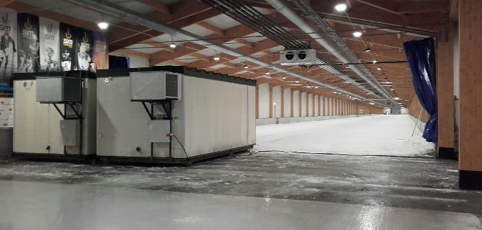 Arctic Falls plans to undertake an expansion of its indoor hall