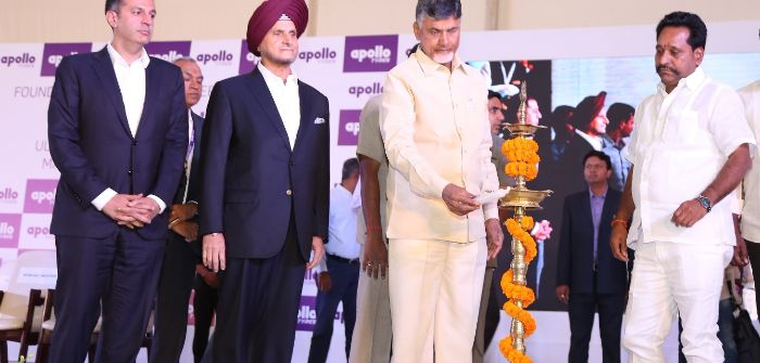Foundations are laid for Apollo's new India factory