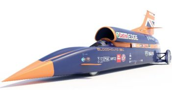 Avon to supply tires for the Bloodhound supersonic car