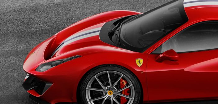 Michelin develops special Pilot Sport Cup 2 tire for Ferrari 488 Pista