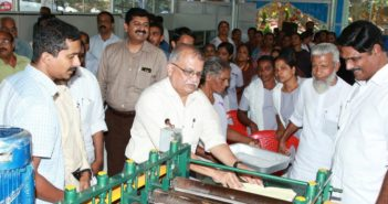 Apollo Tyres inaugurates women-run rubber sheet making unit in southern India