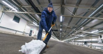 Test World brings the first round of snow into new indoor facility