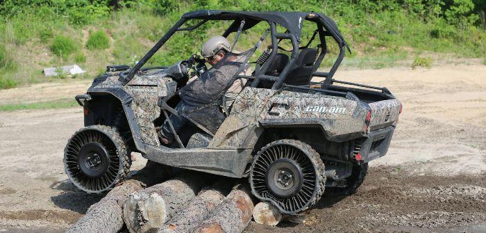Michelin starts sales of 'Tweel' airless tire for UTVs