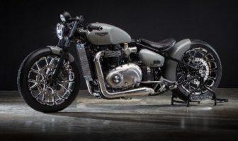 Dunlop develops advanced concept tire for hand-built Krugger motorcycle