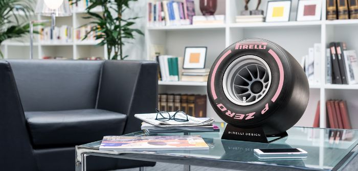 Pirelli develops motorsport-inspired hi-fi system