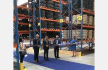 Trelleborg opens EU logistics hub for material handling and construction tires