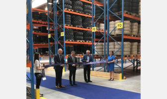 Trelleborg opens EU logistics hub for material handling and construction tires
