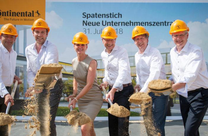 Conti breaks ground on new headquarters