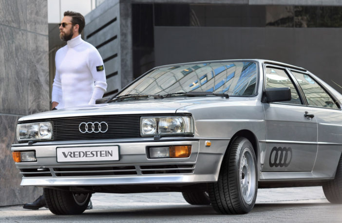 Vredestein develops classic car tire line-up and launches first model designed for the Audi Ur Quattro
