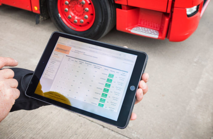 Haulier Smith of Denny trials new ContiConnect and Yard Reader Station