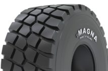 Magna introduces new MA02+ tire for articulated dump trucks