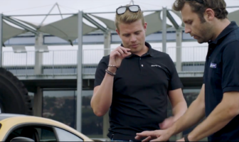 Two test drivers at Michelin and AMG explain how they work together to develop tires