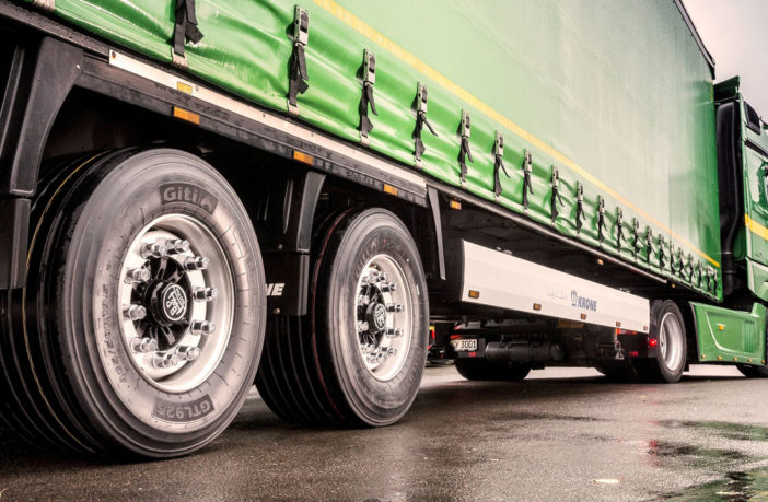 Giti increases load capacity of low profile tires for high volume trailers