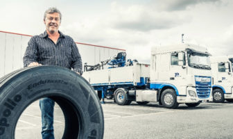 Apollo delivers first truck tires from Hungarian plant
