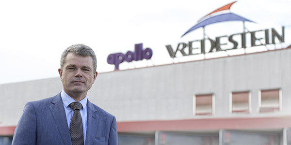 Benoit Rivallant appointed president of Apollo Vredestein in Europe