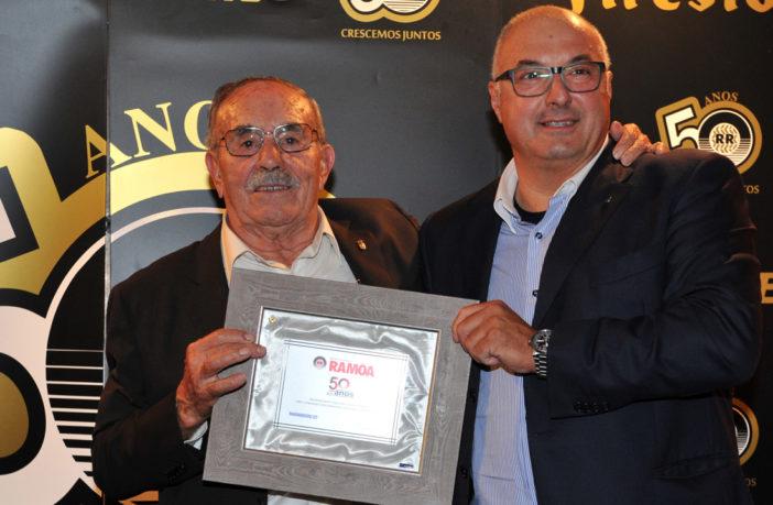 Marangoni celebrates 50th anniversary of its partner Recauchutagem Ramôa