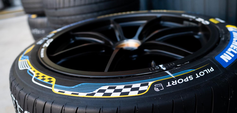 Michelin Tests Its New Formula E Pilot Sport Tire