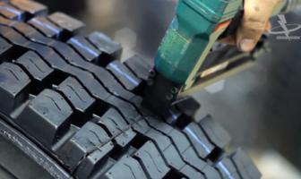 Black's Tire retreading division uses Black Magic staples