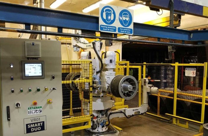 Vipal Rubber installs first buffing machine outside of Latin America