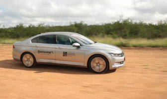 Continental pioneers tire tests with self-driving test vehicles
