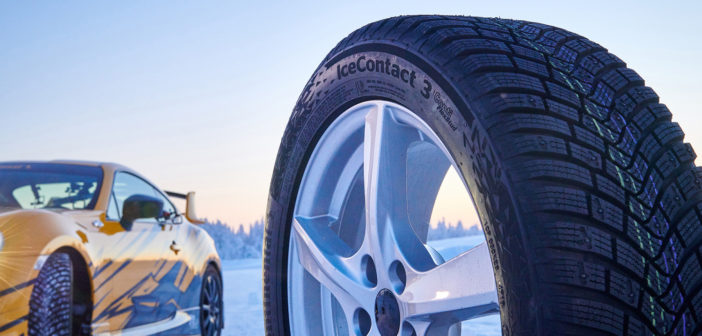 Conti introduces IceContact 3 with improved stud technology