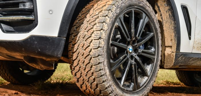 BMW X5 to run on General Tire Grabber AT3 tires