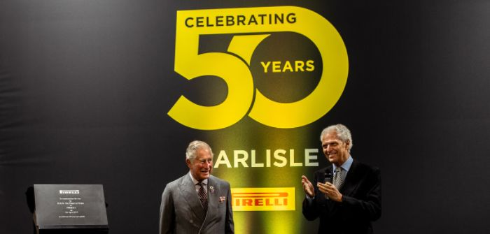 Pirelli Carlisle plant celebrates its 50th anniversary