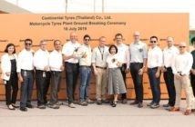 Construction begins at Continental motorcycle factory in Thailand