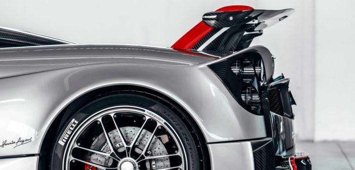 Pirelli develops bespoke P Zero Trofeo R for Pagani Huayra Roadster BC