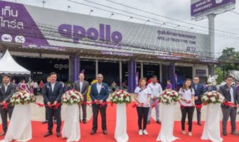 Apollo Tyres opens its first truck tire center in Thailand