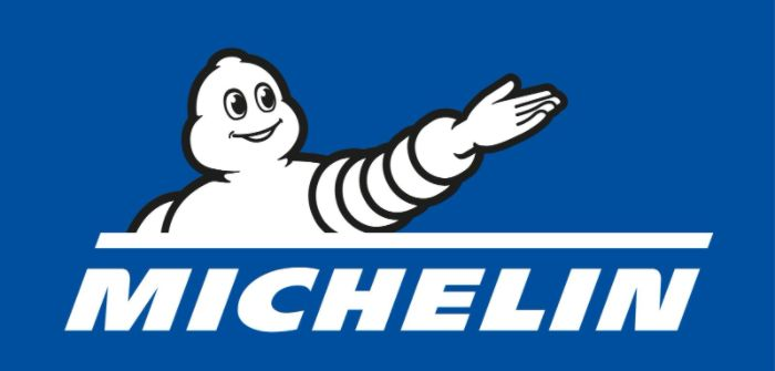 Michelin on green track