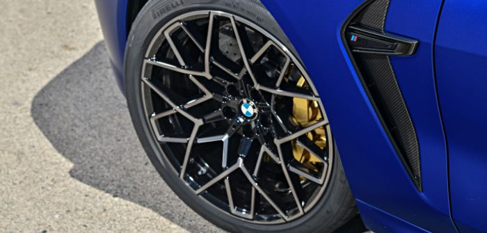 High-performance tire developed for new BMW M8