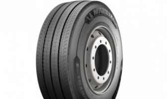 Michelin's new truck tire incorporates special compound material