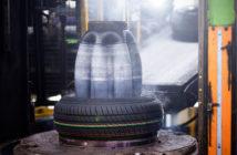 Tire bladder vulcanization curing