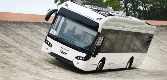 Continental tests electric bus tire prototypes