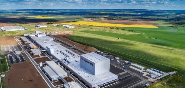 Nexen's Žatec factory produces first OE fitment tires