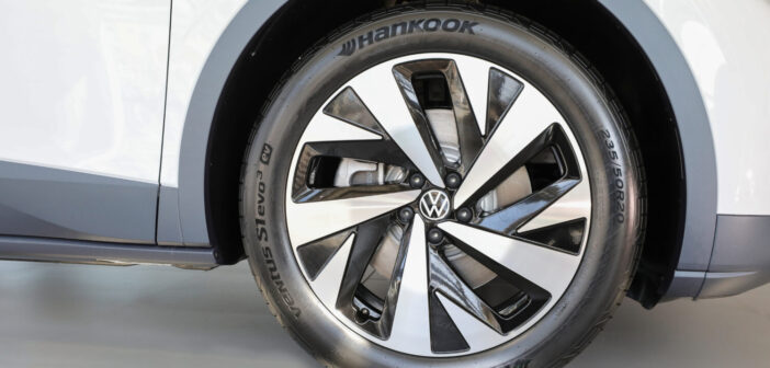 First all-electric Volkswagen SUV to be equipped with Hankook tires