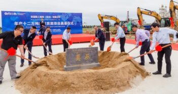Orion Engineered Carbons begins construction of second site in China